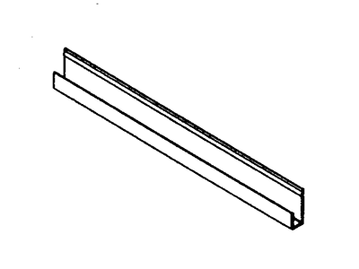 J channel soffit starter strip