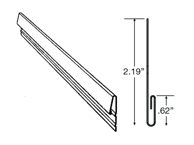 Emco Building Products Steel Sill Trim Undersill